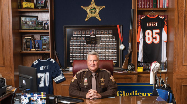 All About Sheriff David Gladieux