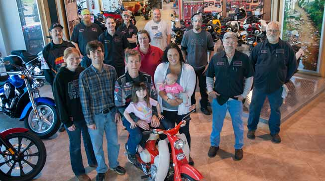 A family powerhouse business people for Hayden honda kendallville indiana