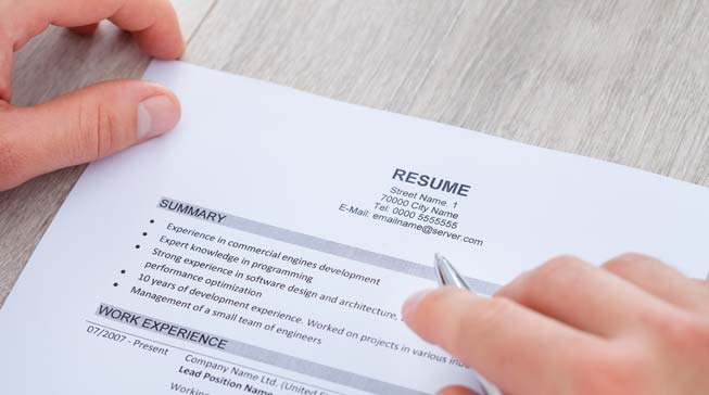What Makes a Resume Great Business People