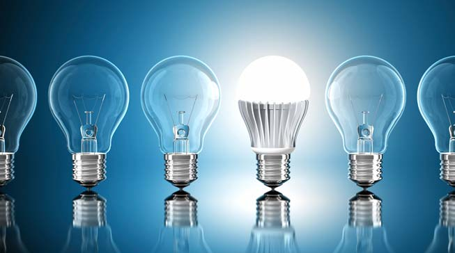 Converting Fluorescent Light Bulbs to LED - Business People